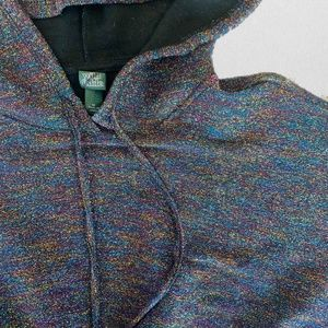 wild fable Tops - Multicolor Cropped Hoodie